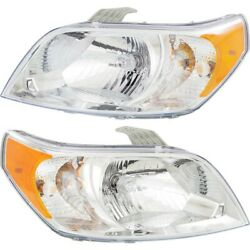 Gm2503354c Gm2502354c Headlight Lamp Left-and-right For Chevy Lh And Rh Aveo5
