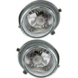 Fog Lights Lamps Set Of 2 Front Left-and-right Ma2593125, Ma2592125 Lh And Rh Pair