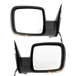 Ch1321356 Ch1320356 Mirrors Set Of 2 Left-and-right Heated Lh And Rh For Ram Pair