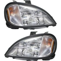 Headlight Lamp Left-and-right A0632496007, A0632496006 Lh And Rh For Columbia