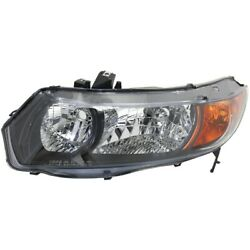 Headlight Lamp Left Hand Side Driver Lh Ho2518111 33151svaa01 Coupe For Civic