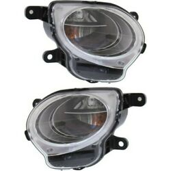Pair Turn Signal Lights Lamps Set Of 2 Left-and-right Fi2533100 Fi2532100