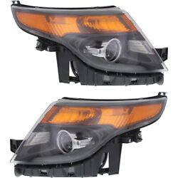 Headlight Lamp Left-and-right Fo2503313 Fo2502313 Db5z13008g Db5z13008h