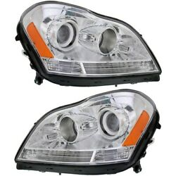 Mb2503202 Mb2502202 Headlight Lamp Left-and-right For Mercedes Lh And Rh Gl450