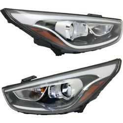 Headlight Lamp Left-and-right Hy2503185 Hy2502185 921022s640 921012s640