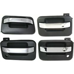 Exterior Door Handle Front And Rear Left-and-right For F150 Truck Lh Rh Ford F-150