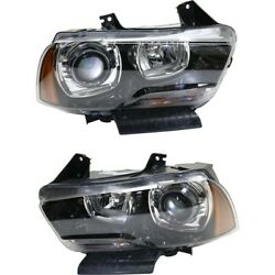 Hid Headlight Lamp Left-and-right Hid/xenon Ch2502236 Ch2503236 Lh And Rh