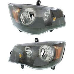 Headlight Lamp Left-and-right For Town And Country Dodge Ch2502266c Ch2503266c