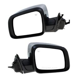 Mirrors Set Of 2 Left-and-right Heated Ch1321414, Ch1320414 Lh And Rh Pair