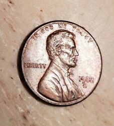 1982d Lincoln Penny Zinc Small Date