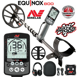 Minelab Equinox 800 Waterproof Wireless Metal Detector With 11 Dd Search Coil