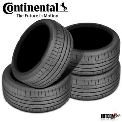 4 X New Continental Extremecontact Sport 295/30r20 101y Performance Summer Tire