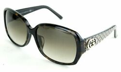100% Auth GUCCI 3178KS URDCC 60-15-130 Brown Sunglass Made In Italy W Case