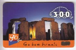 Europe Telecarte / Phonecard .. Rep. Tcheque 300kc Go Stonehenge Monument +nanddeg