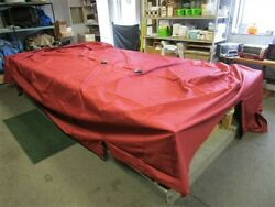Sweetwater 2019 2086 C3 Pontoon Cover Red 247 X 137 1/2 Marine Boat