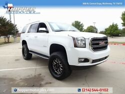 2019 GMC Yukon SLT NEW LIFTCUSTOM WHEELS AND TIRES 2019 GMC Yukon SLT NEW LIFTCUSTOM WHEELS AND TIRES 31663 Miles Summit White SUV