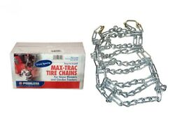 18 X 850-8 Peerless Maxtrac 2 Link Spacing Tire Chains Set Of Two 18 X 8.50-8