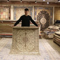 Clearance Yilong 4and039x6and039 Traditional Wool Area Rug Hand-knotted Home Carpets 2112