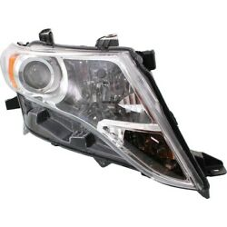 811100t020 To2503189 Headlight Lamp Right Hand Side Passenger Rh For Venza 09-16