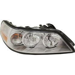 6w1z13008aa Fo2503214 Headlight Lamp Right Hand Side Passenger Rh For Town Car
