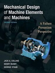 Mechanical Design Of Machine Elements And Machi Collins Busby Staab+=