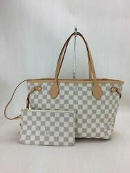 LOUIS VUITTON tote bag PVC BEG ??total handle designer (P12690