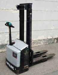 High Lift Truck Handstapler Forklift Electric Hub Height 9 10/12ft to 2645.5lbs