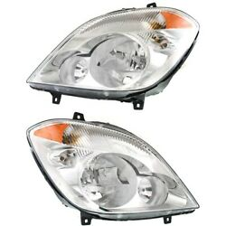 Mb2503191c, Mb2502191c Headlight Lamp Left-and-right For Mercedes Lh And Rh