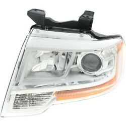 Headlight Lamp Left Hand Side Driver Lh Fo2502334 Fl1z13008f For Ford Expedition
