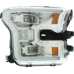 Fo2503344c Headlight Lamp Right Hand Side For F150 Truck Passenger Rh Ford F-150