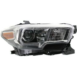 Headlight For 2016-2018 Toyota Tacoma Right With Fog Lights