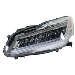 Headlight Lamp Left Hand Side Driver Lh Ho2502178 33150t2aa42 For Honda Accord