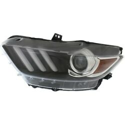 Headlight For 2015-2017 Ford Mustang Driver Side Capa