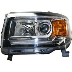 84328814 Gm2502412 Headlight Lamp Left Hand Side Driver Lh For Gmc Canyon 15-19