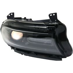 Headlight Lamp Right Hand Side Passenger Rh Ch2503296 68294430af For Charger