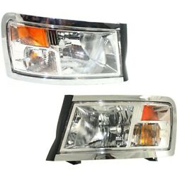 Headlight Lamp Left-and-right Ch2519128, Ch2518128 55112244ae, 55112245ae