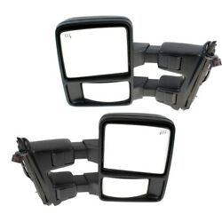 Mirror For 2010-2016 Ford F-350 Super Duty Driver And Passenger Side Set Of 2