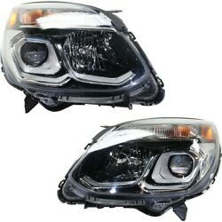 Headlight Lamp Left-and-right For Chevy Gm2502424 Gm2503424 84009751 84009752