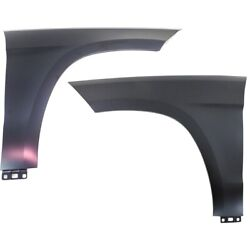 Mb1241151, Mb1240151 Fenders Set Of 2 Front Left-and-right For Mercedes Pair