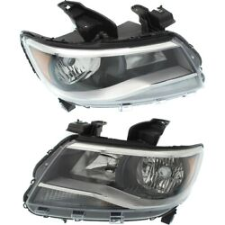 Headlight Lamp Left-and-right For Chevy Lh And Rh Colorado Gm2502407c Gm2503407c