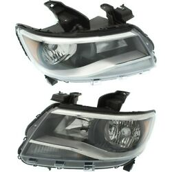 Headlight Lamp Left-and-right For Chevy Lh And Rh Colorado Gm2502407c, Gm2503407c