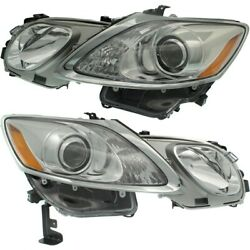 Lx2518145, Lx2519145 Hid Headlight Lamp Left-and-right Hid/xenon Lh And Rh