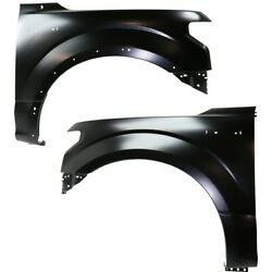 Fender For 2015-2017 Ford F-150 Front Left And Right Set Of 2 Capa