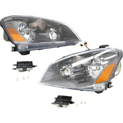 Hid Headlight Lamp Left-and-right Hid/xenon Ni2502158, Ni2503158 Lh And Rh
