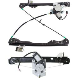 Window Regulator For 2008-2011 Ford Focus Front And Rear Driver Side Set Of 2