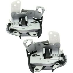 Pair Door Latches Set Of 2 Front Left-and-right For F250 Truck F350 F450 F550