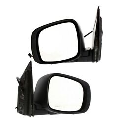Mirror For 2008-2016 Chrysler Town And Country Left And Right Set Of 2