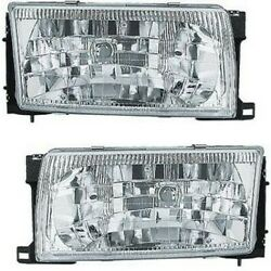 Headlight Lamp Left-and-right Ni2503119 Ni2502119 Lh And Rh For Nissan Quest