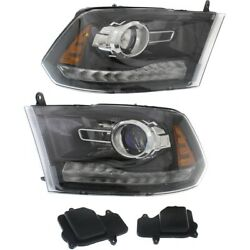 Hid Headlight Lamp Left-and-right Hid/xenon Ch2502289 Ch2503289 Lh And Rh For Ram