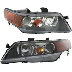 Hid Headlight Lamp Left-and-right Hid/xenon Lh And Rh For Tsx Ac2519106, Ac2518106